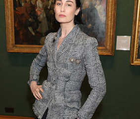 Erin O'Connor at London Fashion Week