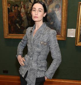 Erin O'Connor at London Fashion Week