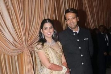 Isha and Anand marry in India