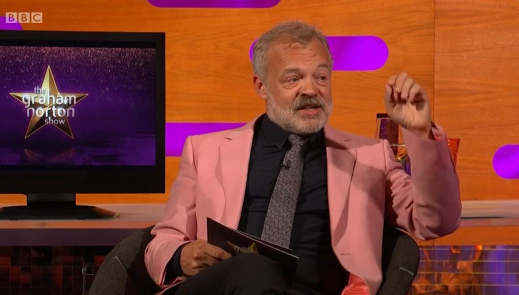 the Graham Norton Show Chris Hemsworth David Tennant Michael Sheen