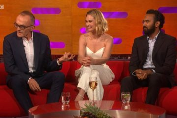 Graham Norton Show 14 June Lily James Danny Boyle